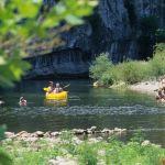 Baignade et canoë-kayak en Ardèche